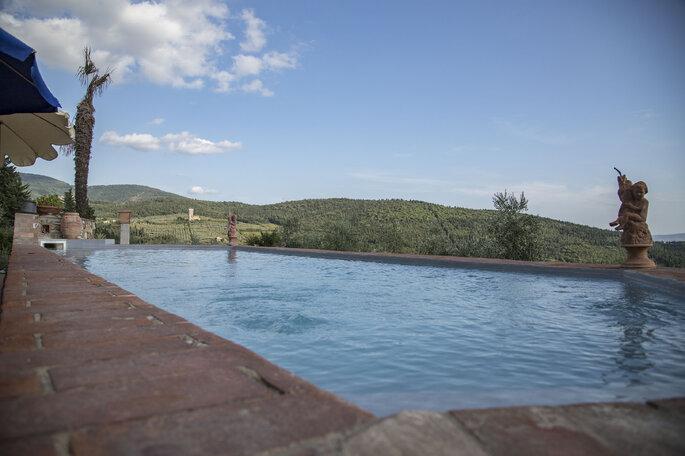 Location matrimonio con piscina esterna