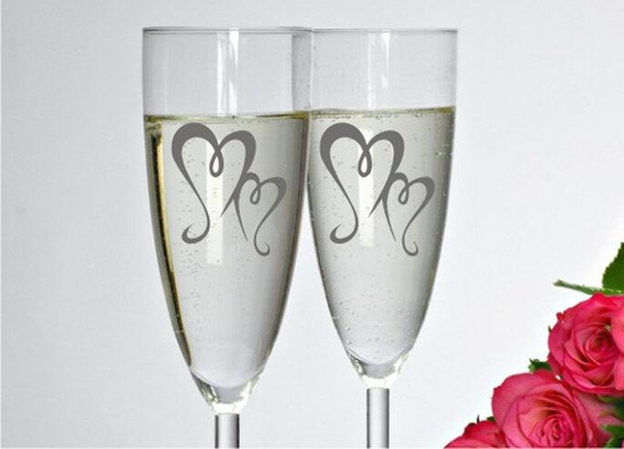 Glasdekor Aufkleber - filigranes Herz von FleurDeLis-Wandtattoo