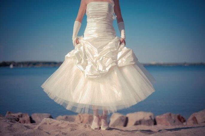 Braut am See - Foto: Hochzeitsfotograf Friedemann Thomas