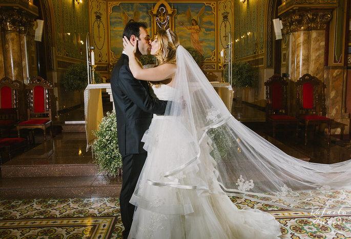 Noivos Aline e Artur