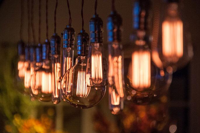 decoração de casamento iluminação