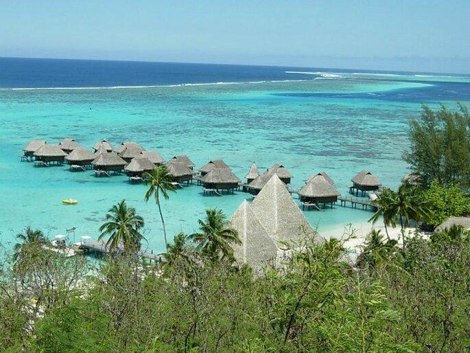 La Polinesia è il Paradiso sulla terra: è una meta che molti sposi scelgono per scaricare lo stress accumulato prima del matrimonio.