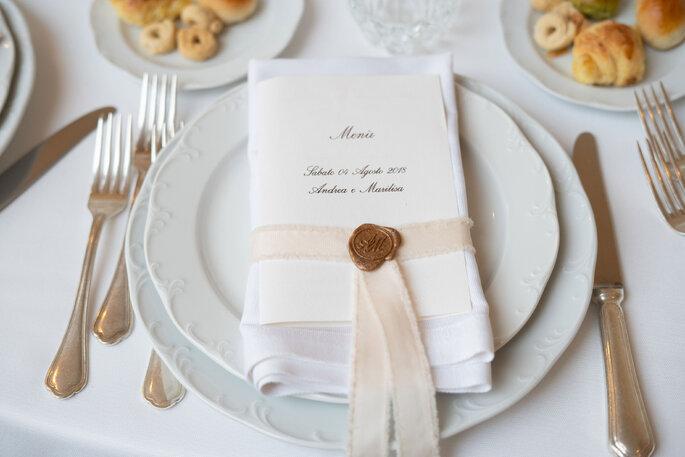 menu matrimonio