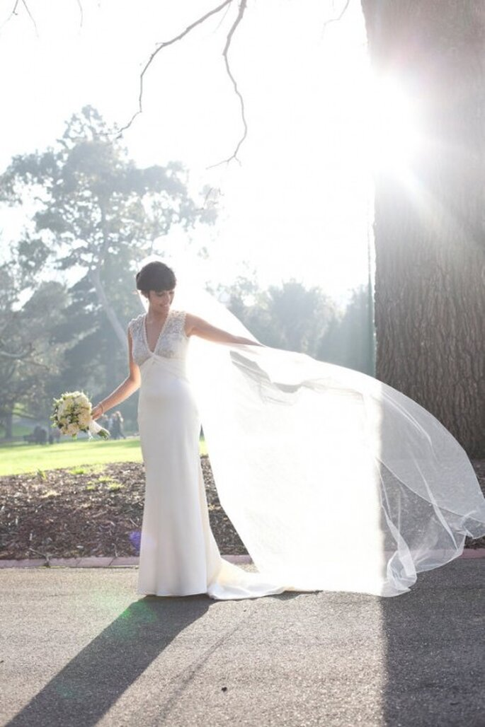 Velo de novia tipo Capilla - Foto clager6 Etsy