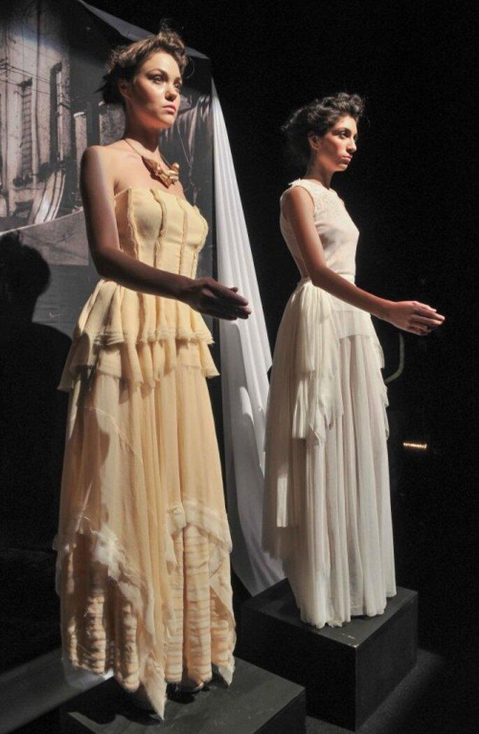 Vestidos de novia 2014 de Trista - Foto Mercedes Benz Fashion Week México