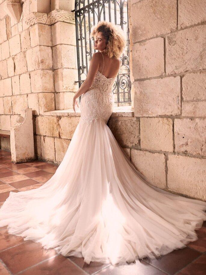 Vestido de noiva semi sereia Maggie Sottero