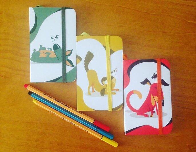 Caderninhos personalizados para crianças Bem Pensados Moleco – Foto: Divulgação