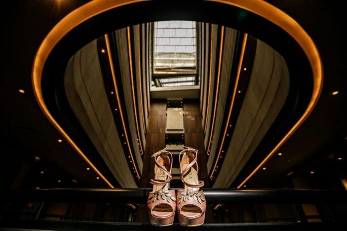 Christian Cardona Zapatos de novia