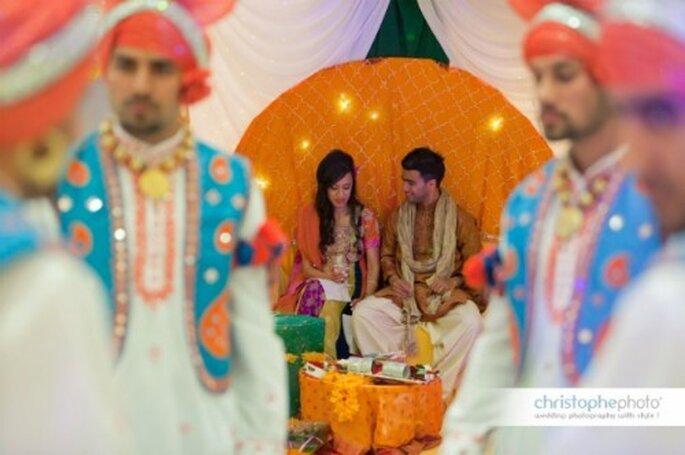 Cérémonie et réception de mariage doivent s'adapter aux cultures des mariés. - Photo : Cesc Giralt