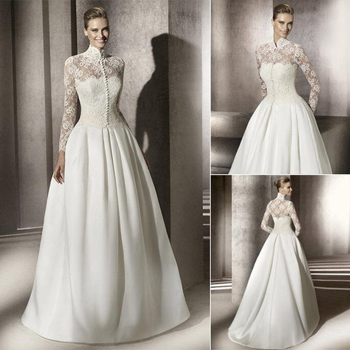 Vestidos de novia estilo invierno