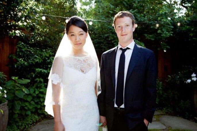 La boda de Mark Zuckerberg - Foto: Facebook