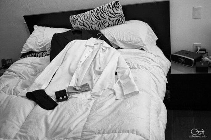 Mit Gipsbein oder Arm in der Schlaufe, ist das perfekte Outfit dahin. Foto: Arturo Ayala