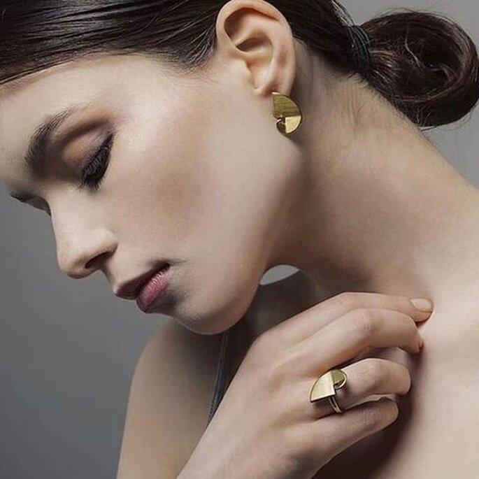 Brincos e anel MOD Jewellery Design