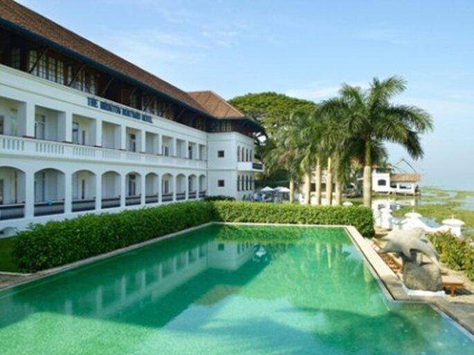 Voyage de noces dans le sud de l'Inde, séjournez au Brunton Boatyard...