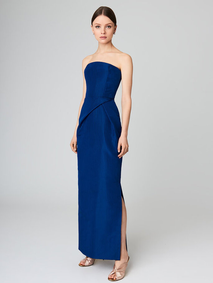 vestido para casamento à noite
