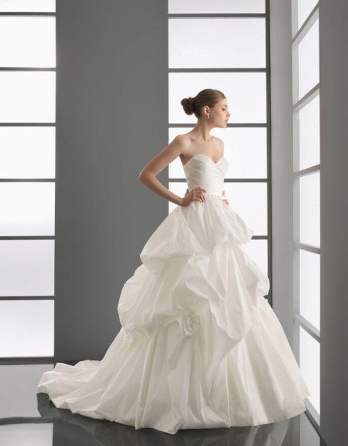 Vestido corte princesa de Aire Barcelona 2012