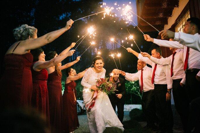 mini wedding sparkles