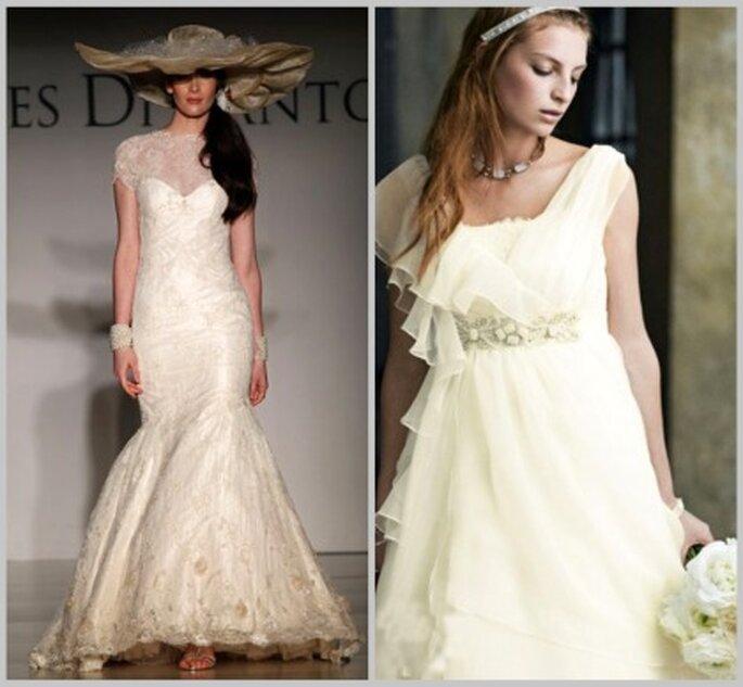 Qué vestidos de novias se usan para las bodas en el campo?