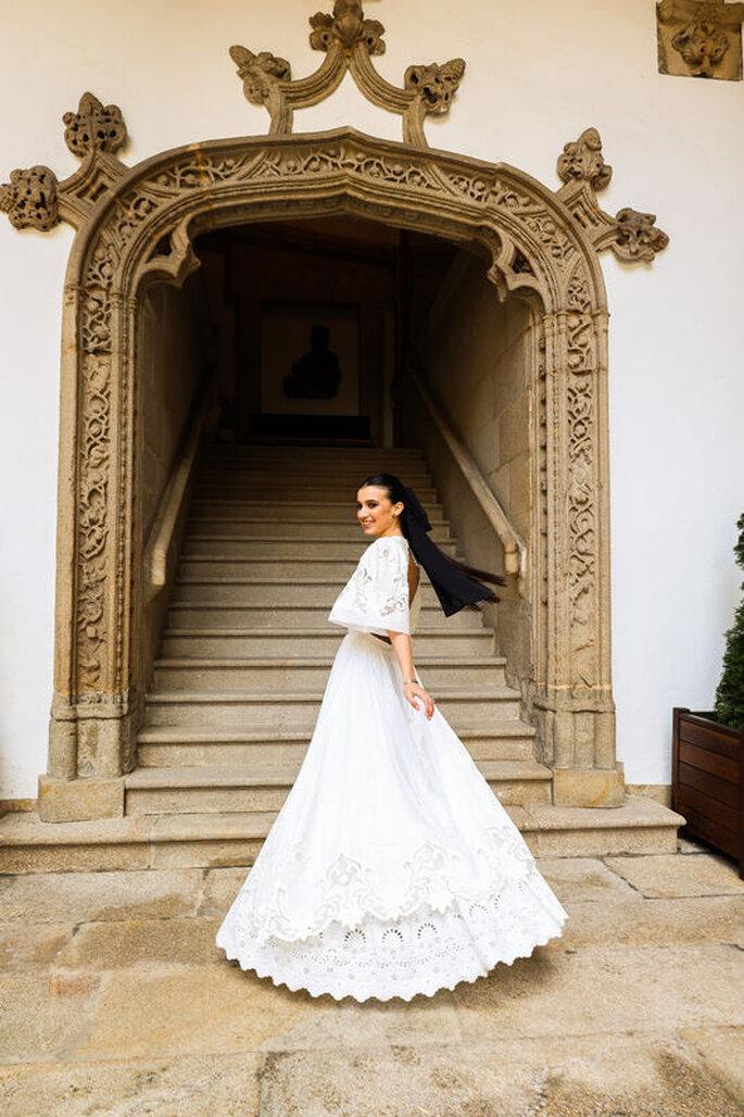 Ana Prados Atelier diseñadora novias Santiago de Compostela
