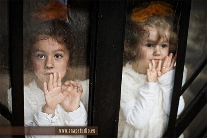 Niñas que forman parte del cortejo nupcial - Foto: www.snapstudio.eu