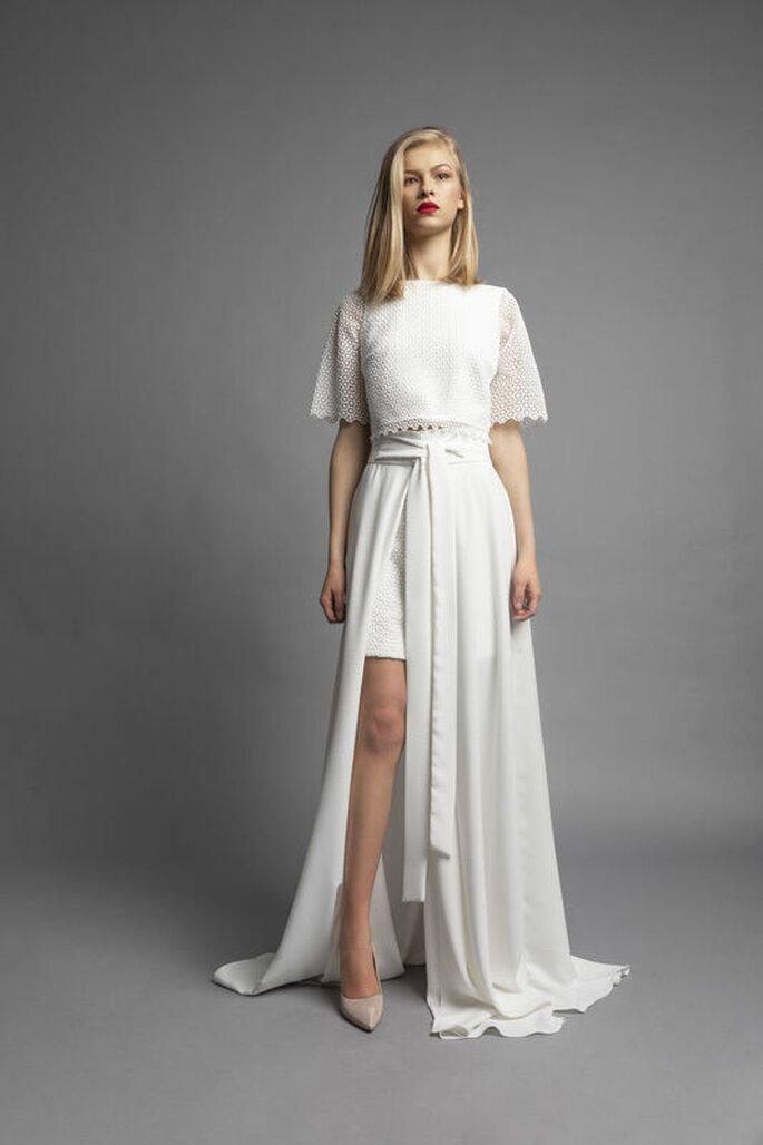 BIANCAD'OTTOBRE - abito da sposa ecosostenibile