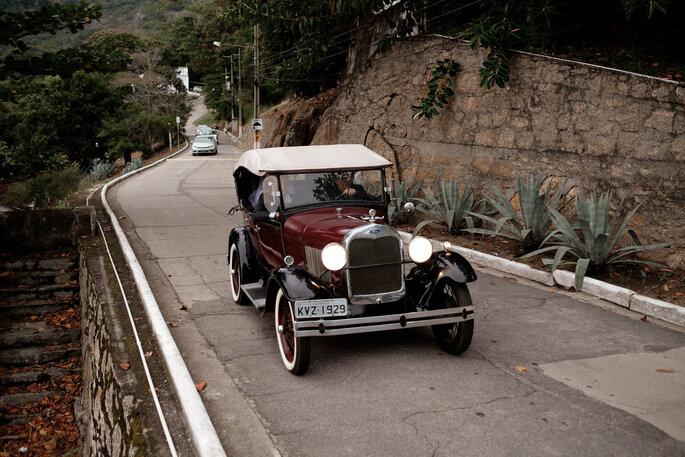 carro da noiva