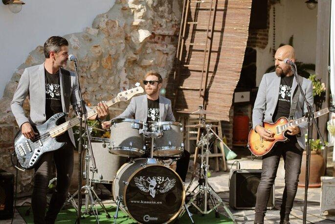 Kassia Rock Band música bodas Málaga