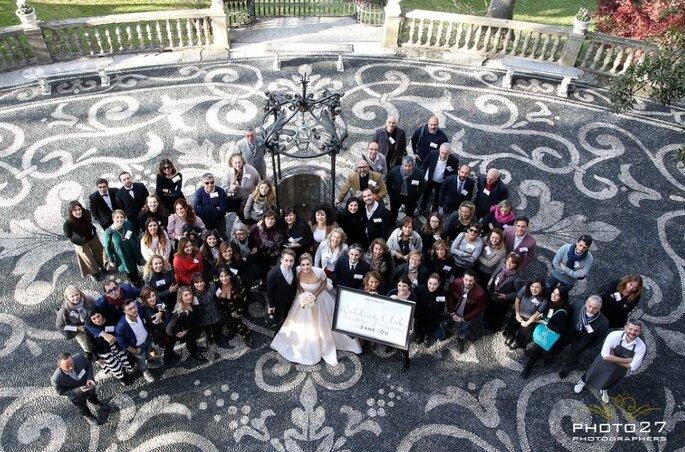 Il gruppo al gran completo del nostro Wedding Club Zankyou Christmas Edition in Portofino