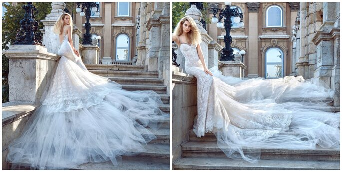 Image: Galia Lahav Ivory Tower Haute Couture Collection, dress 1603 Elizabeth