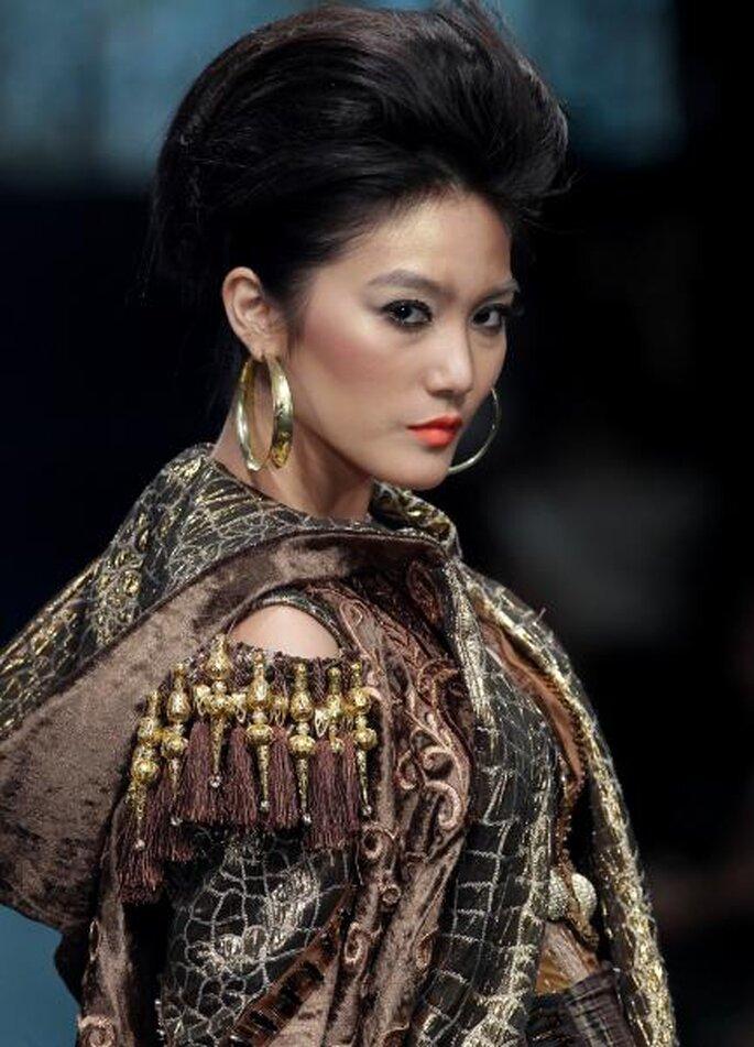Pasarela Jakarta Fashion Week 2012. Foto de Image.net.
