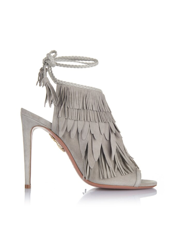 So Pocahontas Sandal 105, Aquazzura.