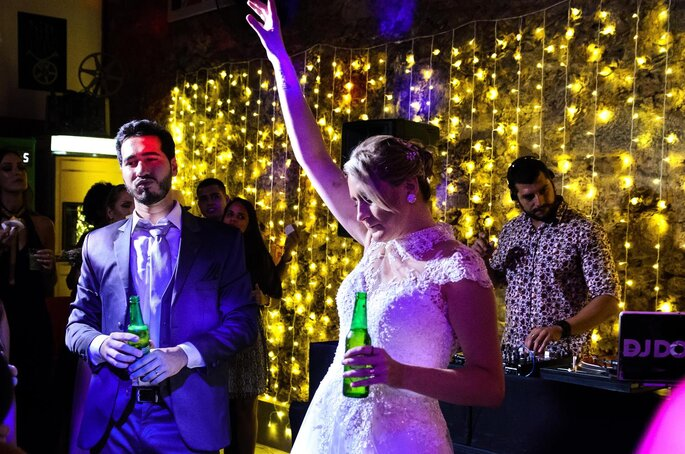 casamento alternativo no bar