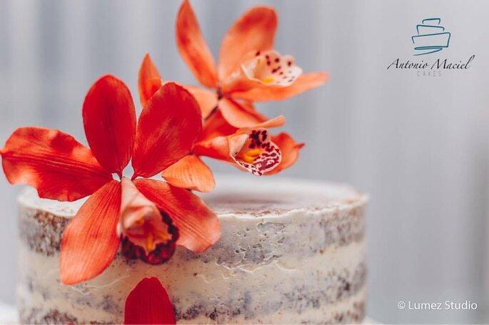 bolo naked para casamento