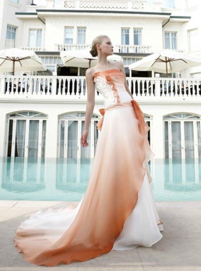 L'arancione è un colore caldo e brillante ma non eccessivo. Foto www.elisabettapolignano.it
