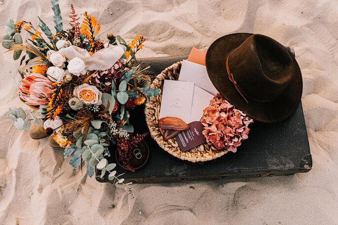 Dekoracje kwiatowe i zaproszenia