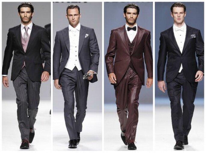 męska moda ślubna 2013