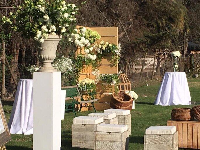 Butterfly eventos banquetería matrimonio Santiago