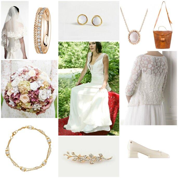 Look pour mariée vintage