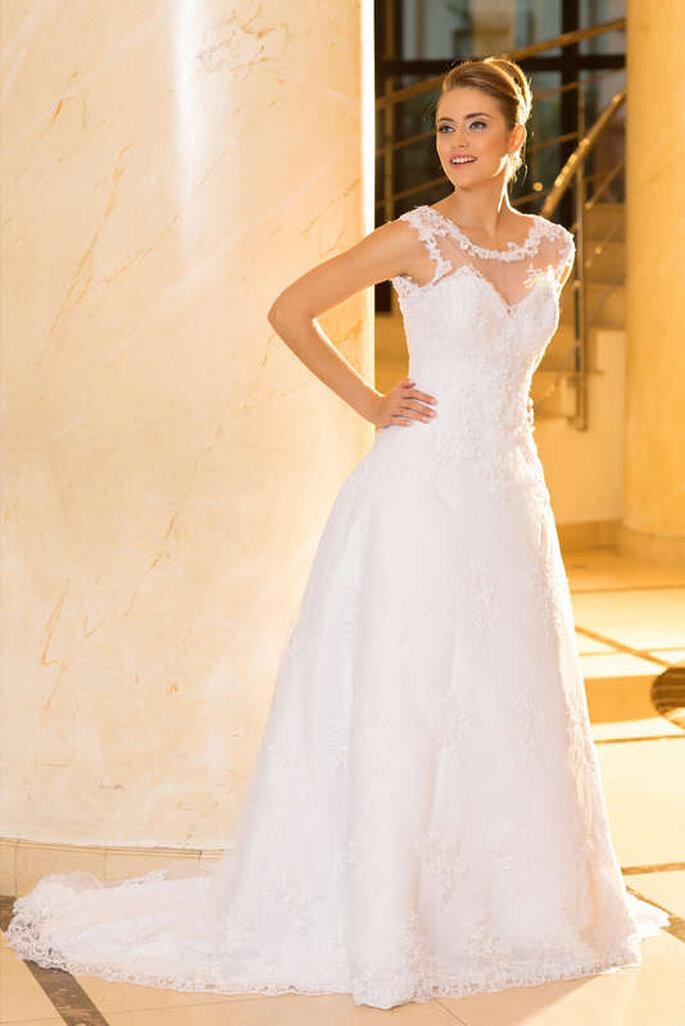 Vestido de noiva corte A