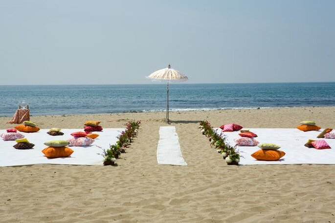 Matrimonio Simbolico En La Playa : InnovaciÒn una boda romÁntica en la playa