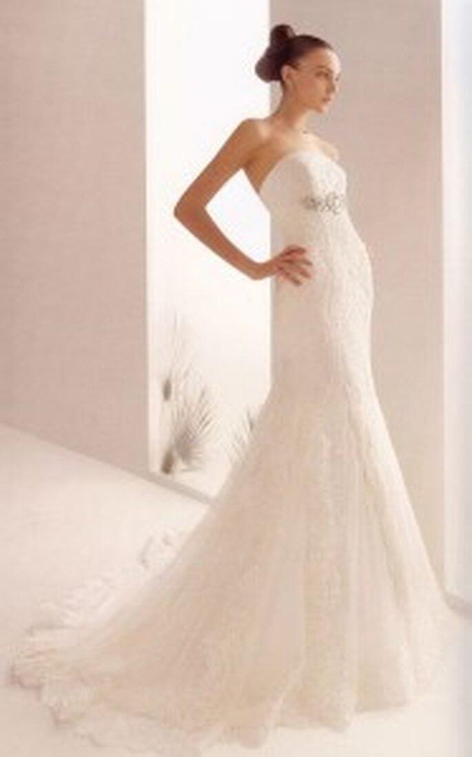 Con los vestidos de Rosa Clará seguramente tu figura lucirá lindísima