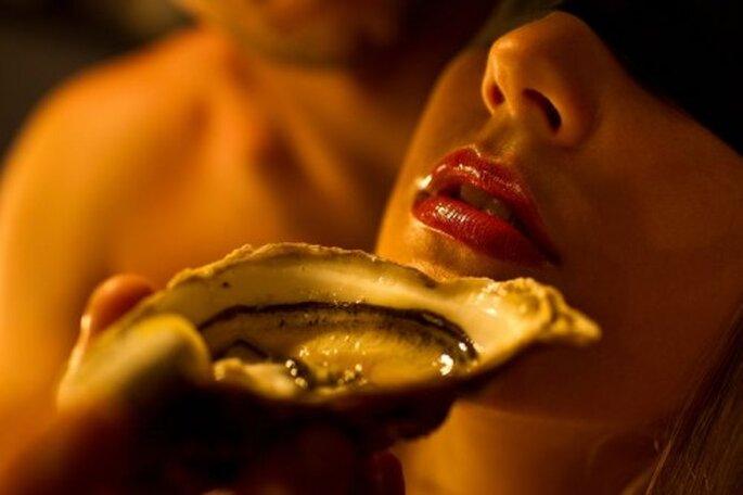 Lassen Sie sich in der Honeymoon-Suite verwöhnen – Foto: www.maiers.at/liebeshotel
