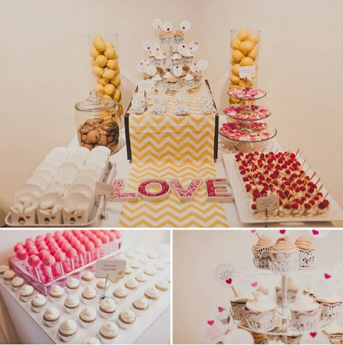 Decoracion Para Kioscos ~ Arm kioscos de golosinas en tu boda Fotos green Wedding Shoes