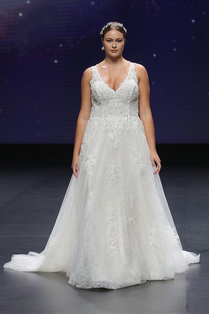 Abiti da sposa Demetrios 2021 taglie forti