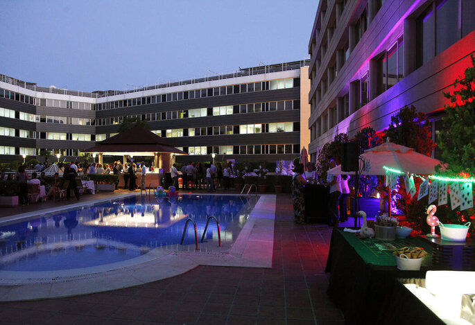 Pullman Madrid Airport & Feria hotel bodas Madrid