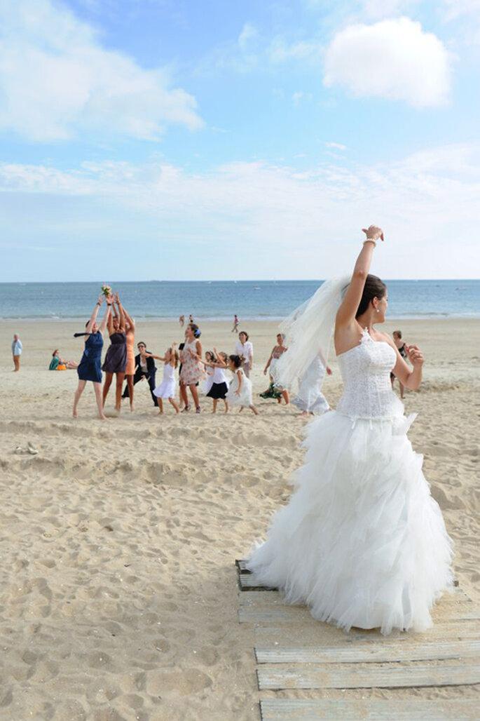 Real wedding à la plage - Florence Chesneau