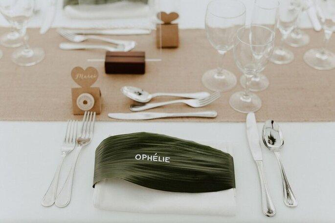 Décoration de mariage - Porte-nom original