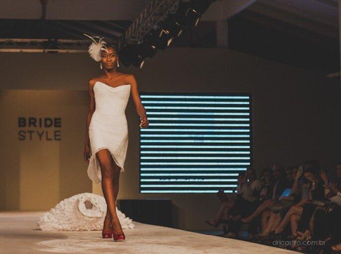 Um dos modelos mais badalados do Bride Style 2013. Foto: Dri Castro