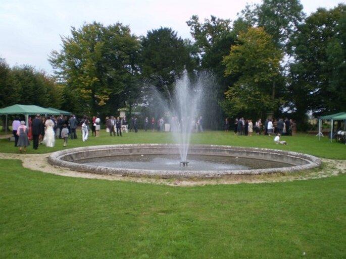 Du cocktail à la soirée de mariage, le Château du Mesnil d'Ô se prête à merveille à la fête - Photo : Mesnil d'Ô