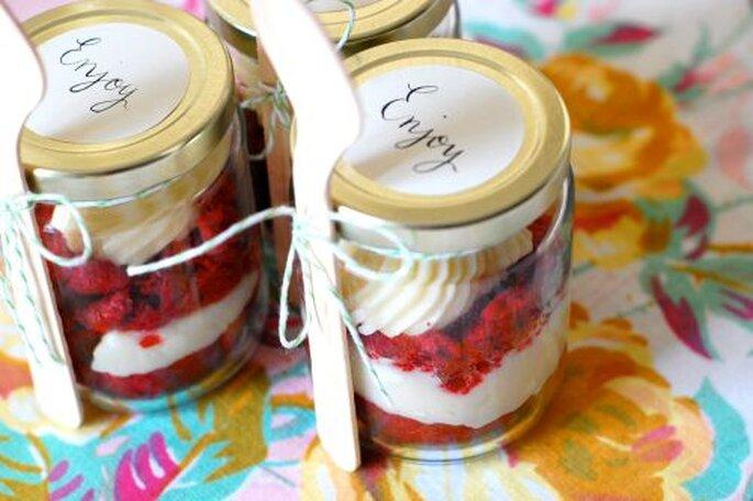 Cupcakes dans des bocaux, Cakies